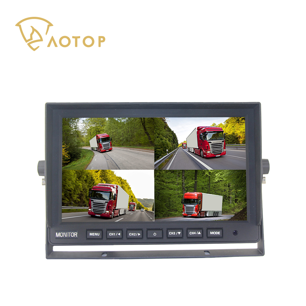 CM-1010HQ 10.1 inch QUAD AHD Rearview Monitor