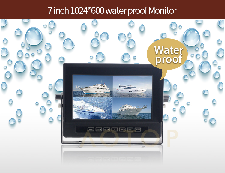 waterproof monitor